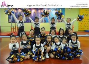 Golden Angeles Cheerleading Kids Team